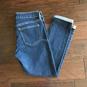 Rich & Skinny Dark Wash Crop Jeans